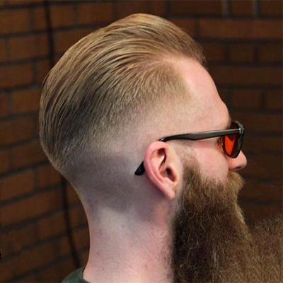 barber クロップスタイル